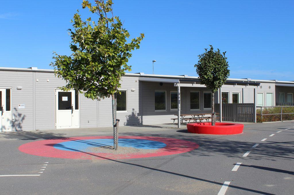 Skolgård på förskola